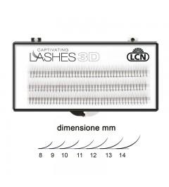 3D Wimpern für Volumen-Technik 0.07 mm - lungh. 14 mm