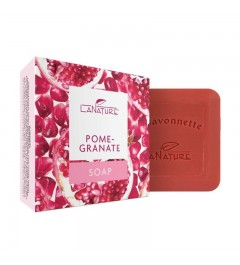 Vegetable Oil Soap La Savonette, 100 g - Pomegranate