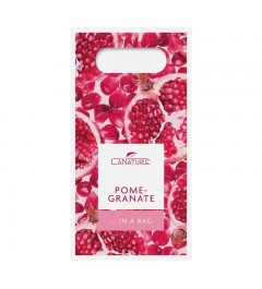 Pomegranate Handle Bag small - 50 ml Hand Cream + 100 g vegetable oil soap