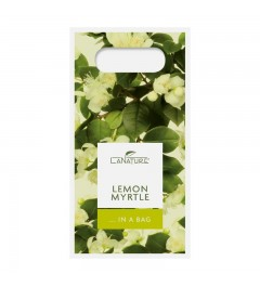 Lemon Myrtle Handle Bag small - 50 ml Hand Cream + 100 g vegetable oil soap