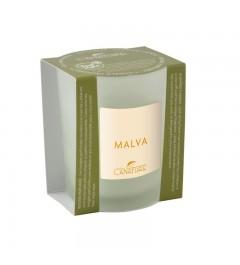 Scented Candle in Glass, small - Malva