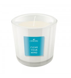 "Scented candle ""Sea Breeze"" in a glass ( Clear your mind )"