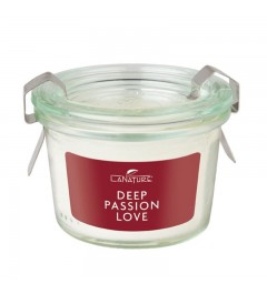 Candela in vetro Weck - Deep Passion Love