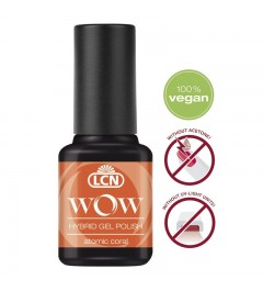 WOW Hybrid Gel Polish Neon, 8 ml - atomic coral