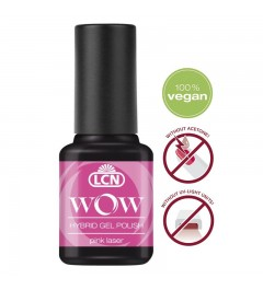 WOW Hybrid Gel Polish Neon, 8 ml - pink laser