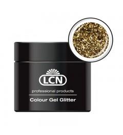 Colour Gel glitter 5 ml - Light gold