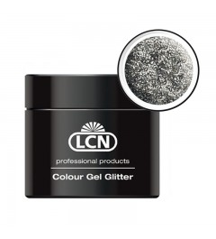 Colour Gel glitter 5 ml - Silver