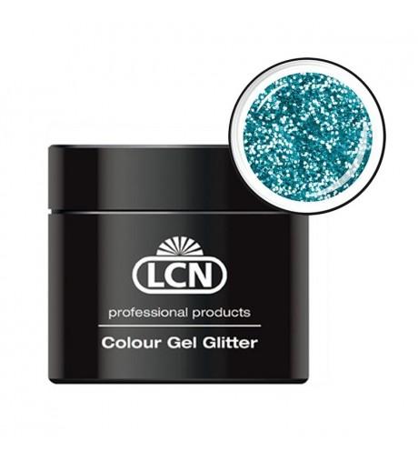 Colour Gel glitter 5 ml - Laser blue