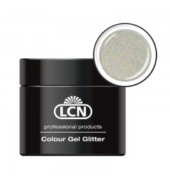 Colour Gel glitter 5 ml - Hologram coated silver