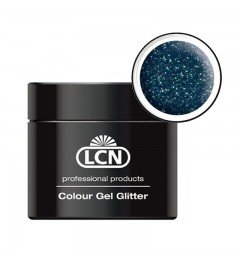 Colour Gel glitter 5 ml - Midnight blue