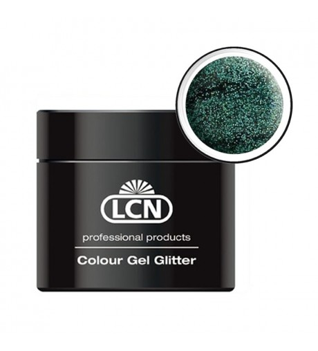 Colour Gel glitter 5 ml - Hologram cayman green