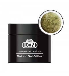 Colour Gel glitter 5 ml - Fancy yellow