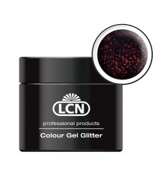 Colour Gel glitter 5 ml - Rouge noir