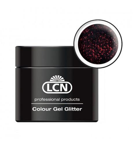 Colour Gel glitter 5 ml - Rouge noir
