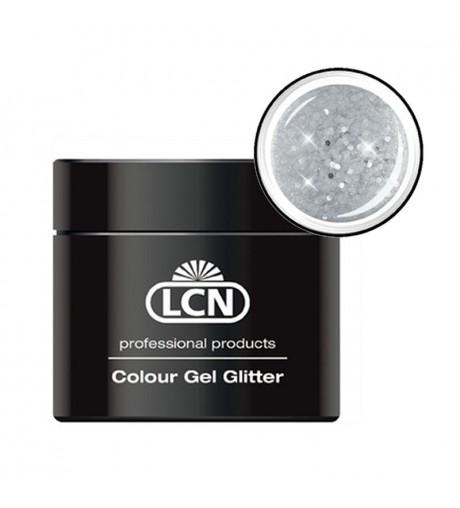 Colour Gel glitter 5 ml - big silver show