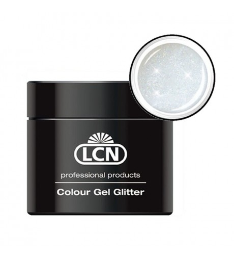 Colour Gel glitter 5 ml - holographic white