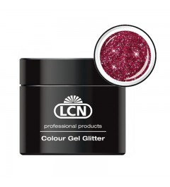 Colour Gel glitter 5 ml - sparkling bordeaux