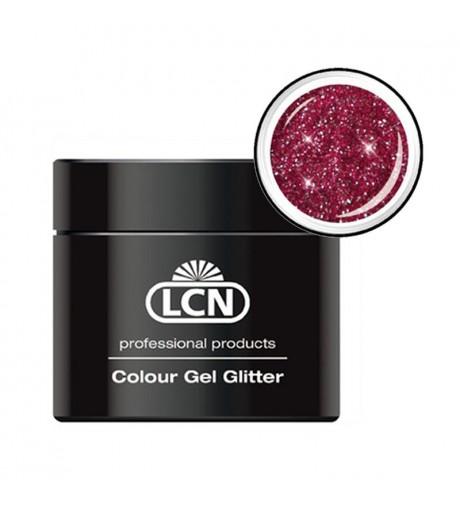 Colour Gel glitter 5 ml - sparkling bordeaux