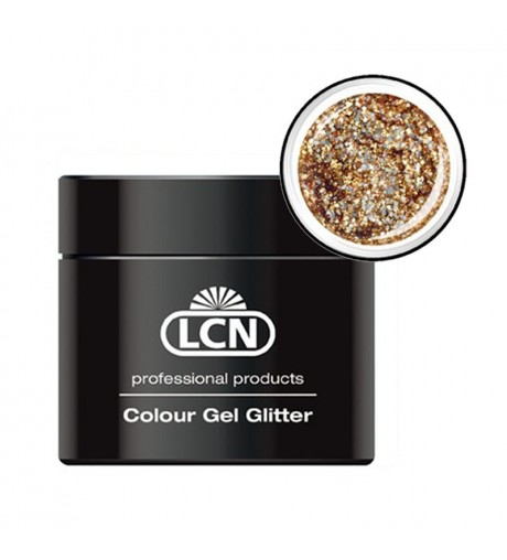 Colour Gel Glitter 5 ml - gold rush