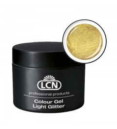 Colour Gel - Light Glitter 5 ml - Light Gold