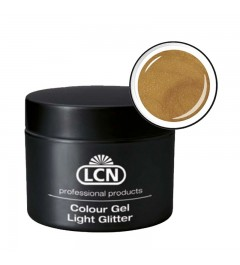 Colour Gel - Light Glitter 5 ml - Extreme Gold