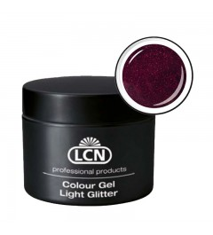 Colour Gel - Light Glitter 5 ml - Delight Pink