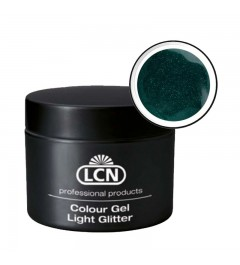 Colour Gel - Light Glitter 5 ml - Eco-Green