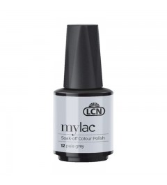 myLac Soak-off Colour Polish, 10 ml - pale grey