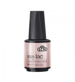 myLac Soak-off Colour Polish, 10 ml - shimmery rose