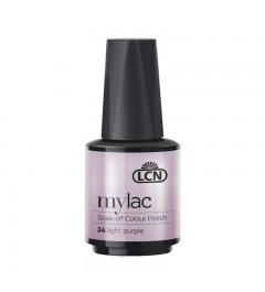 myLac Soak-off Colour Polish, 10 ml - light purple