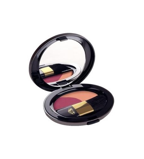 Luxury Blusher Duo peach fusion / shiny sand