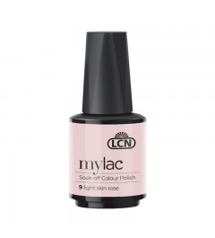 myLac Soak-off Colour Polish, 10 ml - light skin rose