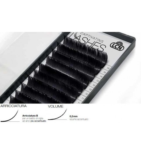 Captivating Lashes - 0,2 mm / B-Curl