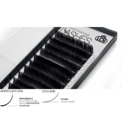 Captivating Lashes - 0,1 mm / C-Curl