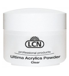 LCN Ultima Acrylics Powder 60 gr - Clear