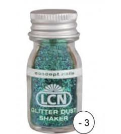 Glitter Dust Shaker - green multi
