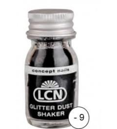 Glitter Dust Shaker - black