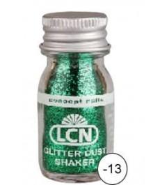 Glitter Dust Shaker - green