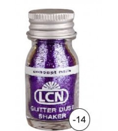 Glitter Dust Shaker - purple