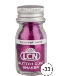 Glitter Dust Shaker - fuchsia fine