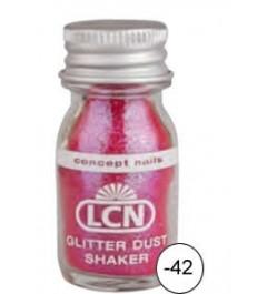 Glitter Dust Shaker - pink hologram fine