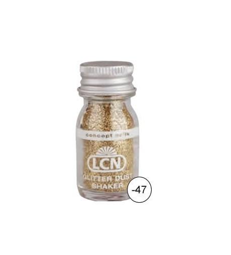Glitter Dust Shaker - gold hologram fine
