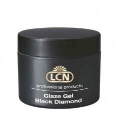 Glaze Gel Black Diamond - Gel sigillante UV, 10 ml