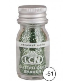 Glitter Dust Shaker - light green fine
