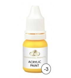 Acrylic Paints 10 ml - yellow