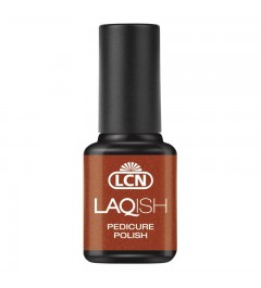 LAQISH Pedicure Polish, 8 ml - found gold at the beach
