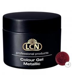 Colour Gel - Metallic 5 ml - Glitter bordeaux