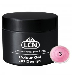 Colour Gel - 3D Design 5 m - Baby pink