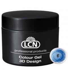 Colour Gel - 3D Design 5 m - Blue summer sky