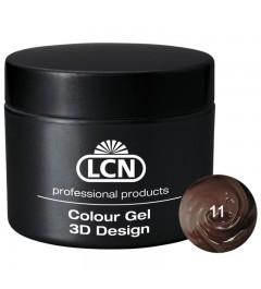 Colour Gel - 3D Design 5 m - Coffee Brown